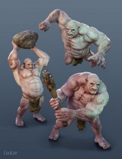Fighting Poses for Ogre HD