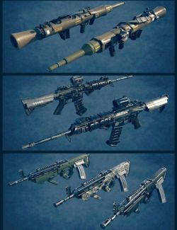 Military Weapons 03