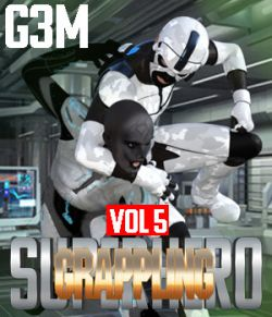 SuperHero Grappling for G3M Volume 5