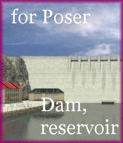 Dam, reservoir