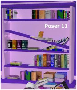 Fallen Shelf Bookshelf