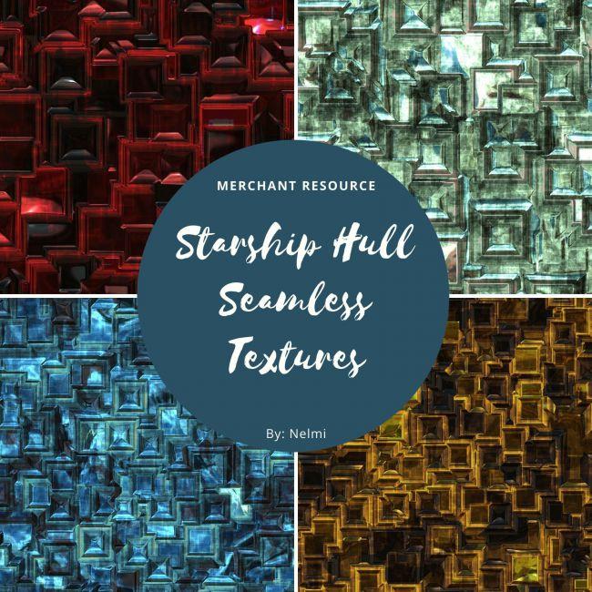 12 Starship Hull Textures