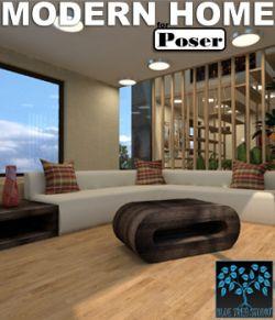 Modern Home for Poser