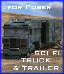 SCI FI Truck & Trailer