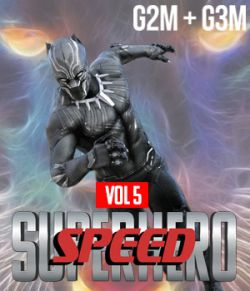 SuperHero Speed for G2M and G3M Volume 5