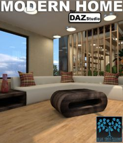 Modern Home for Daz Studio
