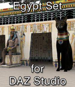 Egypt Set for DAZ Studio