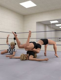 Pro Style Wrestling Poses for Genesis 8 Female