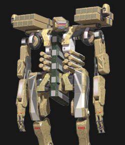 Missile Pack For War Bot