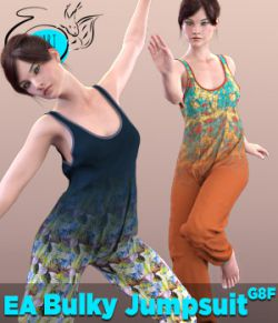 EA Bulky Jumpsuit for Genesis 8 Female(s)