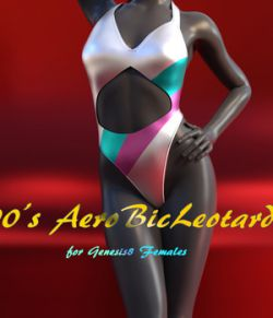 90's AerobicLeotard for Genesis8 Females