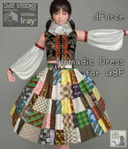 dForce Nomadic Dress for G8F