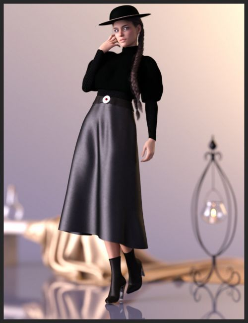 dForce Modern Romantic Outfit for Genesis 8 Female(s)
