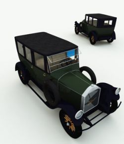 1920 Pierce-Arrow 7-Passenger Sedan for Poser
