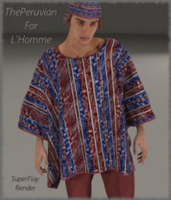 ThePeruvian For L'Homme