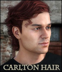 Carlton Hair for Gen 8 Male, La Homme and La Femme