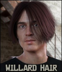 Willard Hair for Gen 8 Male, La Homme and La Femme
