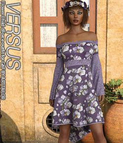 VERSUS - Flower Child dForce outfit for G8F