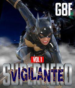 SuperHero Vigilante for G8F Volume 1