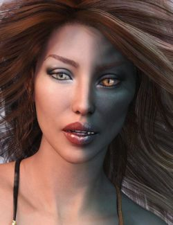 Angel HD and Her Dark Alter Ego for Genesis 8 Female