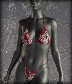 Sexy Bikini for G3F & G8F Summer Textures