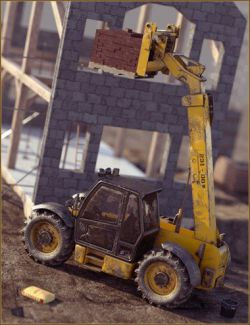 Teleporter Fork Lift Truck