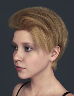 Qu Hair for Genesis 8 Female(s)