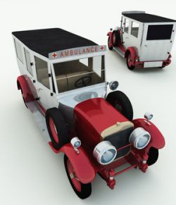 1926 Cunningham Ambulance for Poser