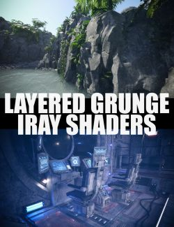 Layered Grunge Iray Shaders
