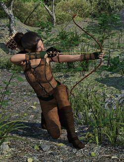 dForce Elf Guardian Outfit for Genesis 8 Female