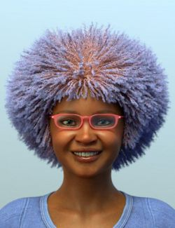 dForce Oso Textured Hair for Genesis 8 Female Addon 2