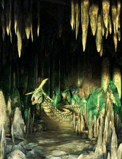 v176 Iray Crystal Cave
