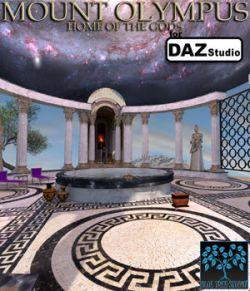 Mount Olympus for Daz Studio