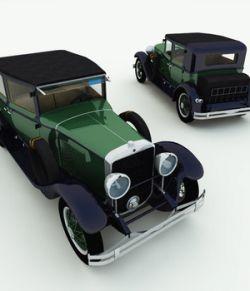 1928 Town Sedan: Al Capone's Car for Poser