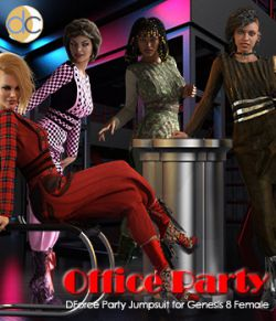 DC-Office Party for Genesis 8 Female