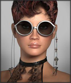 Gothic Punk Glasses for La Femme