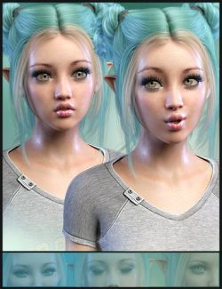 iV Sprightly Wonder Expressions For Genesis 8 Female(s)
