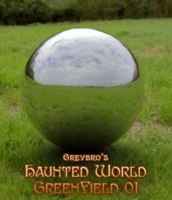 Greybro's Haunted World - Green Field 01 HDRI