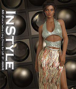 InStyle - JMR dForce Sabia Long Dress for G8F