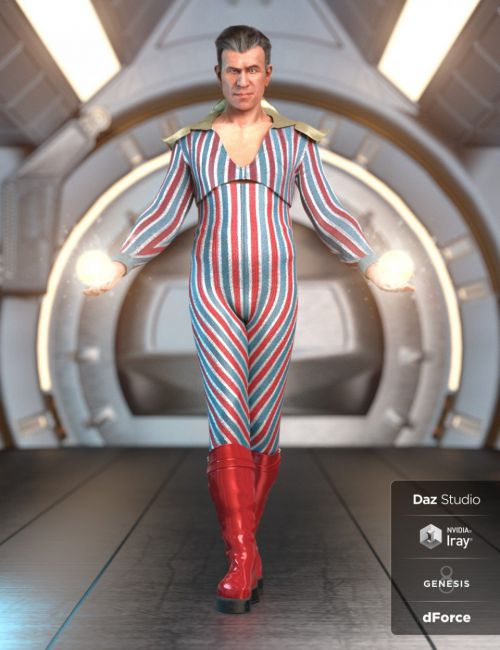 dForce MoonAge Outfit for Genesis 8 Male(s)