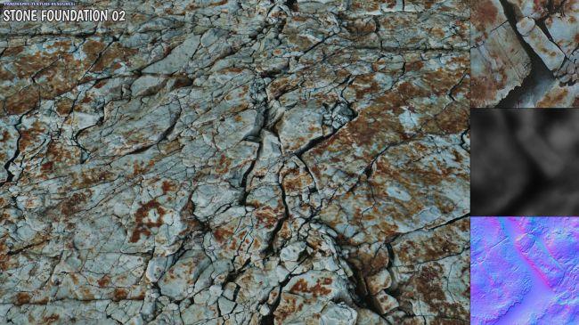 Panoramic Texture Resource: Stone Foundation 02