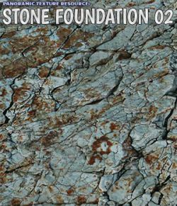 Panoramic Texture Resource: Stone Foundation 02
