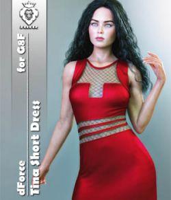 JMR dForce Tina Short Dress for G8F