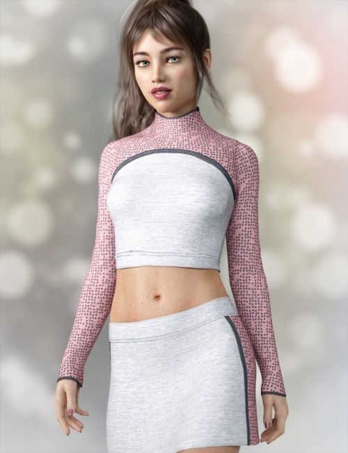 dforce Rabble-Rouser Outfit for Genesis 8 Female(s)