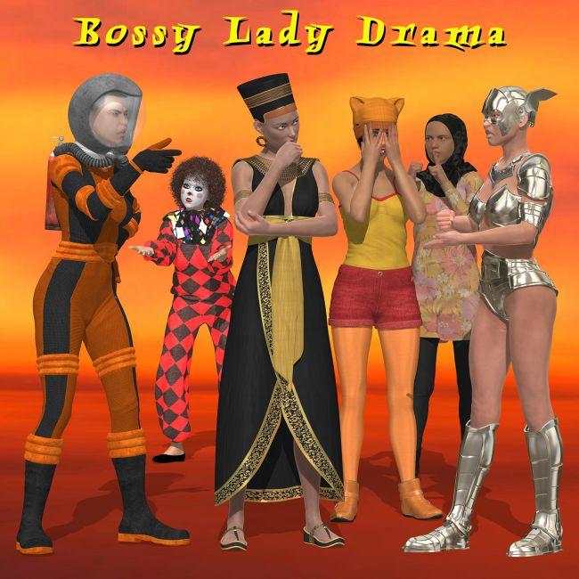 Bossy Lady Drama for G8F