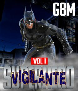 SuperHero Vigilante for G8M Volume 1