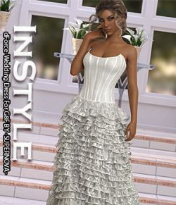 InStyle- dForce-Wedding Dress For G8F