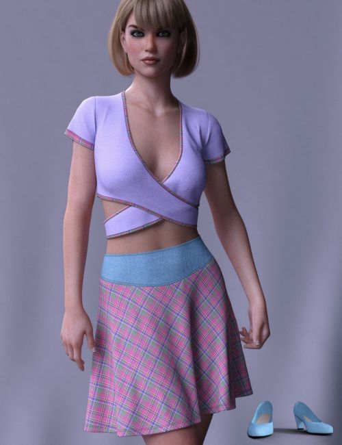 dForce Brazen Charm Outfit for Genesis 8 Female(s)
