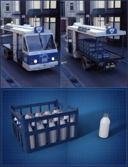 Vintage Milk Float