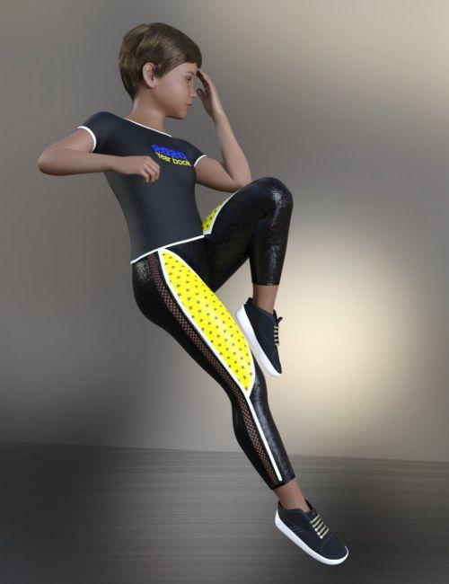 dForce Klareyn Sport Pack for Genesis 8 Female(s)